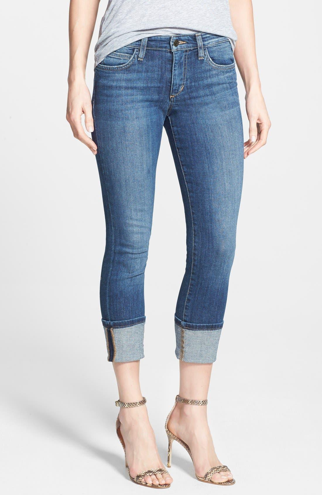 Alternate Image 1 Selected - Joe's Crop Skinny Jeans (Judi)
