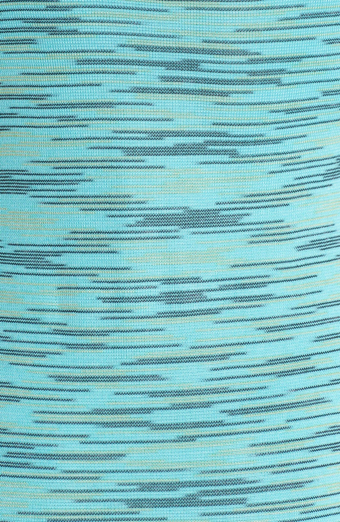 Alternate Image 3  - M Missoni Space Dye Double Knit Dress