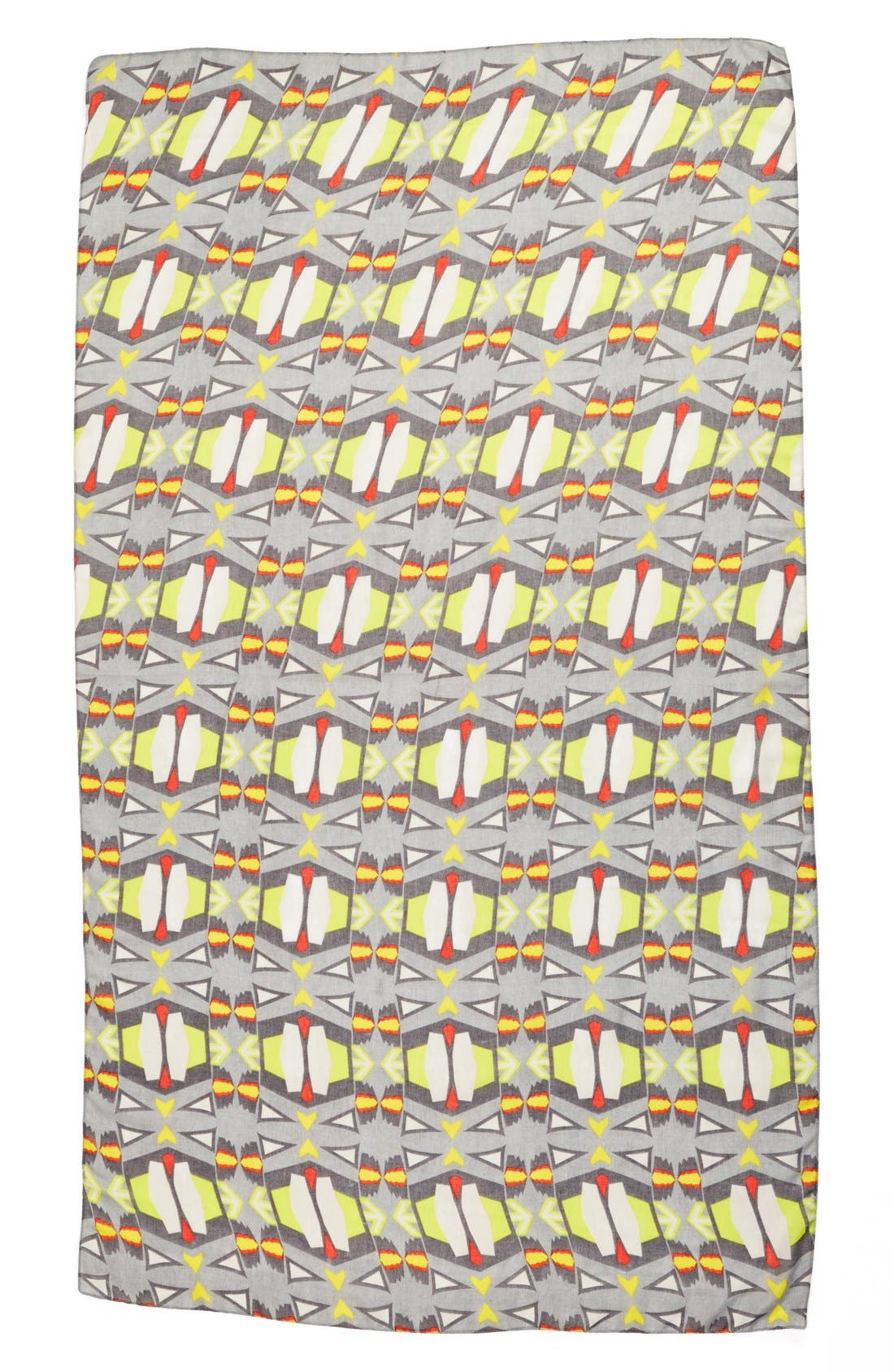 Alternate Image 2  - Leith 'African Geo' Oversized Oblong Scarf