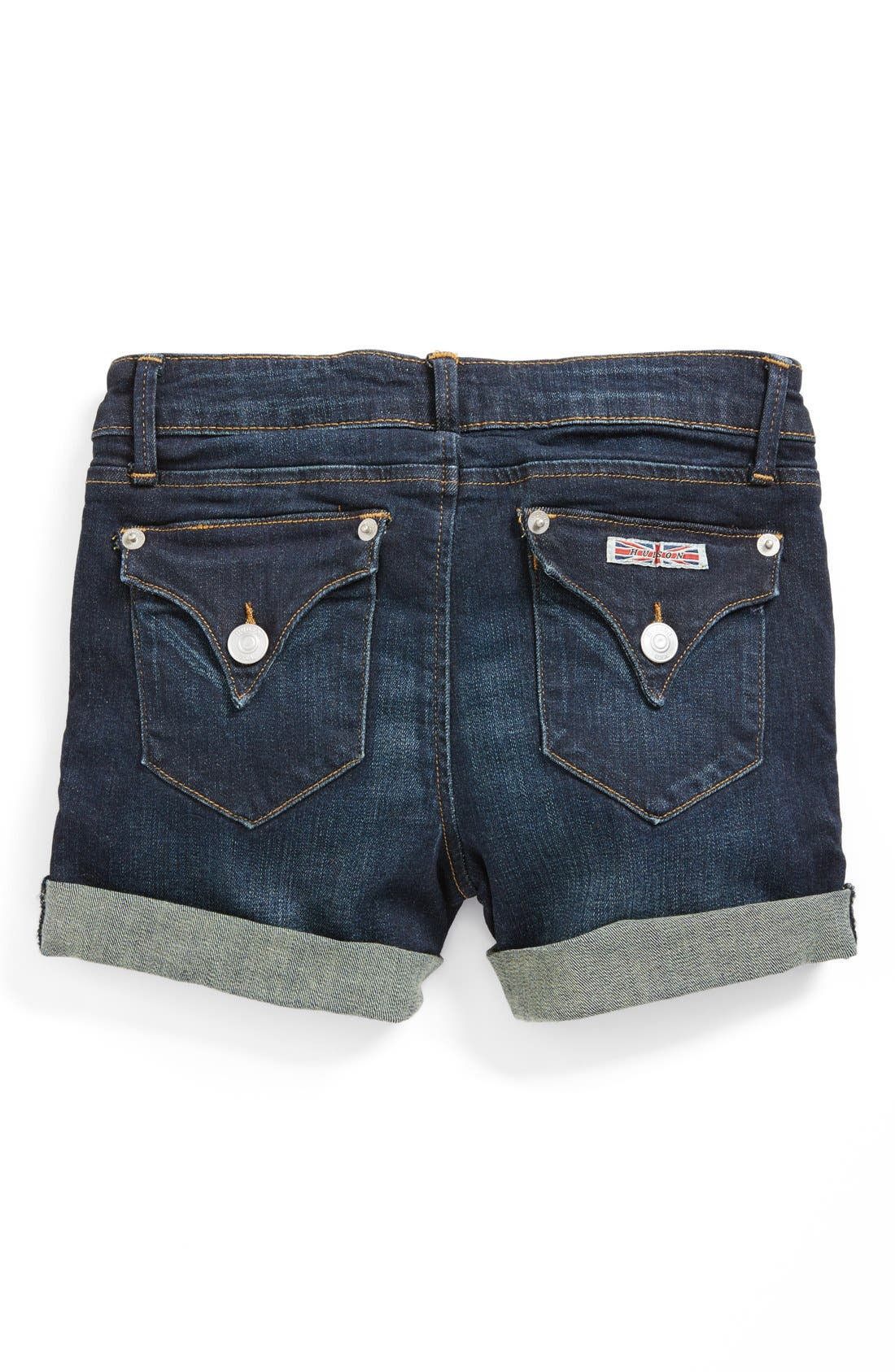 Alternate Image 1 Selected - Hudson Kids Roll Cuff Shorts (Little Girls)