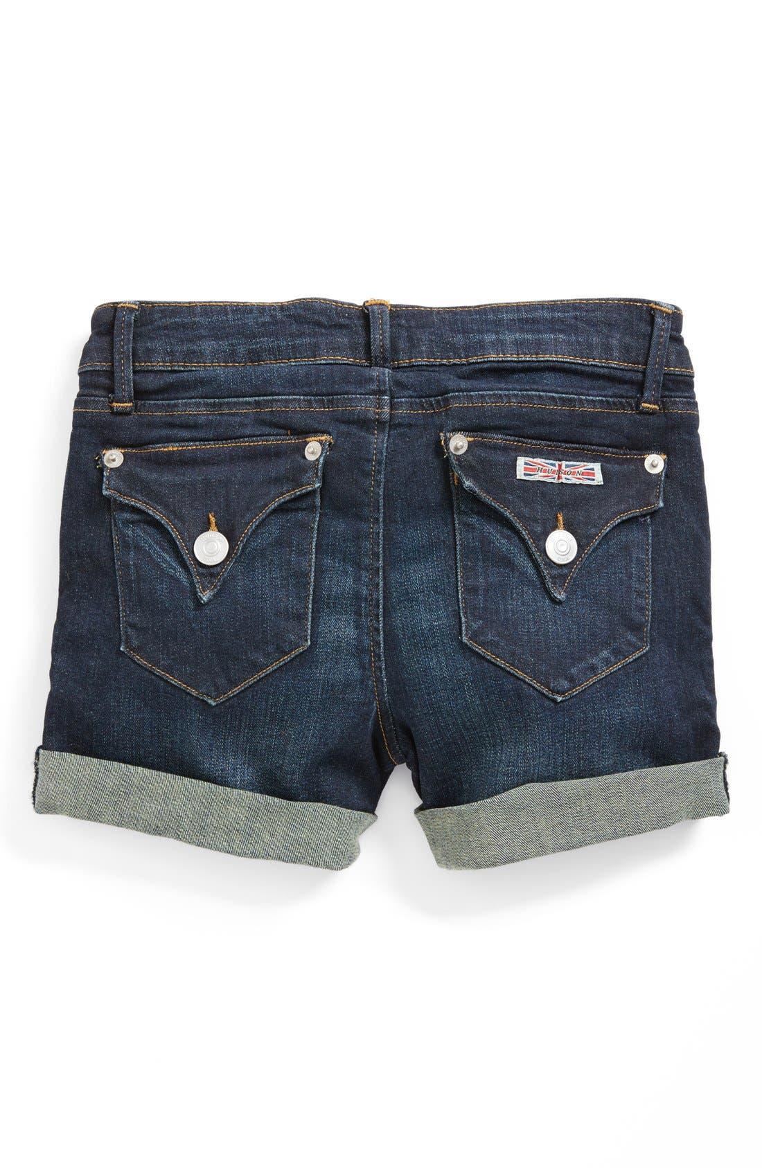 Main Image - Hudson Kids Roll Cuff Shorts (Little Girls)