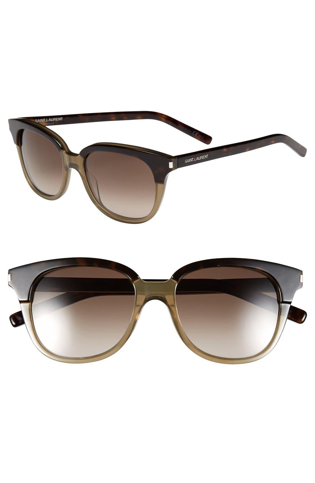 Alternate Image 1 Selected - Saint Laurent 51mm Retro Sunglasses