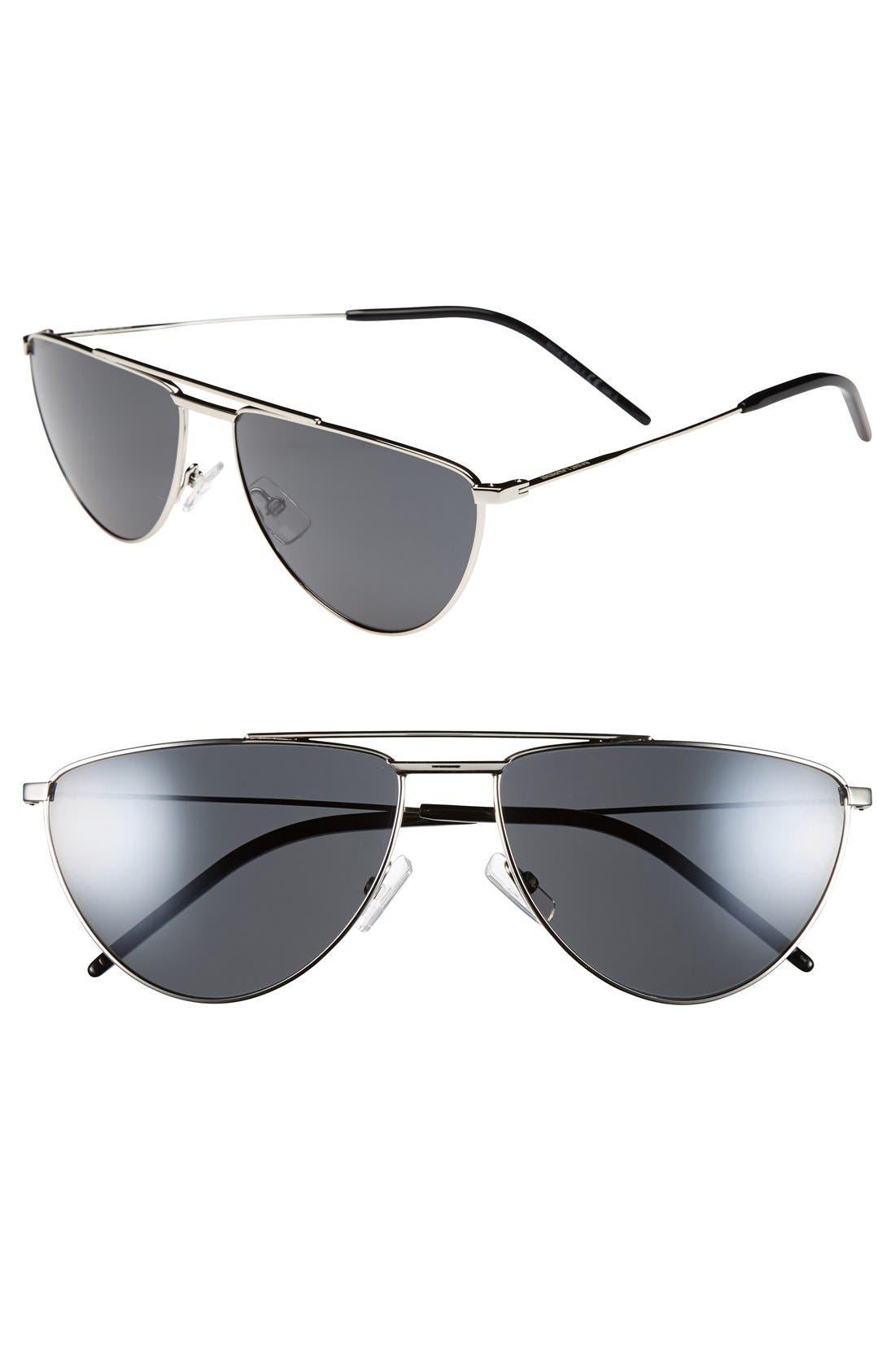 Alternate Image 1 Selected - Saint Laurent 59mm Retro Sunglasses