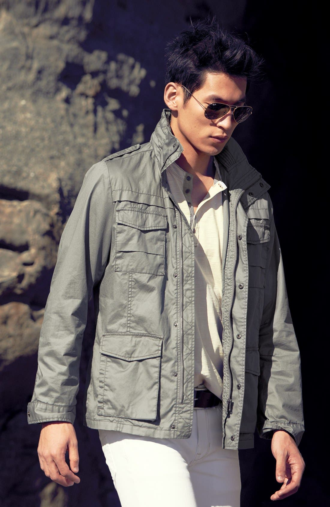 Alternate Image 4  - Jeremiah 'Thornton' Twill Utility Jacket