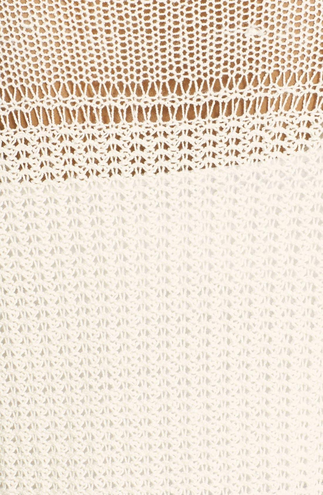 Alternate Image 3  - Lucky Brand 'Millbrae' Bell Sleeve Sweater (Plus Size)