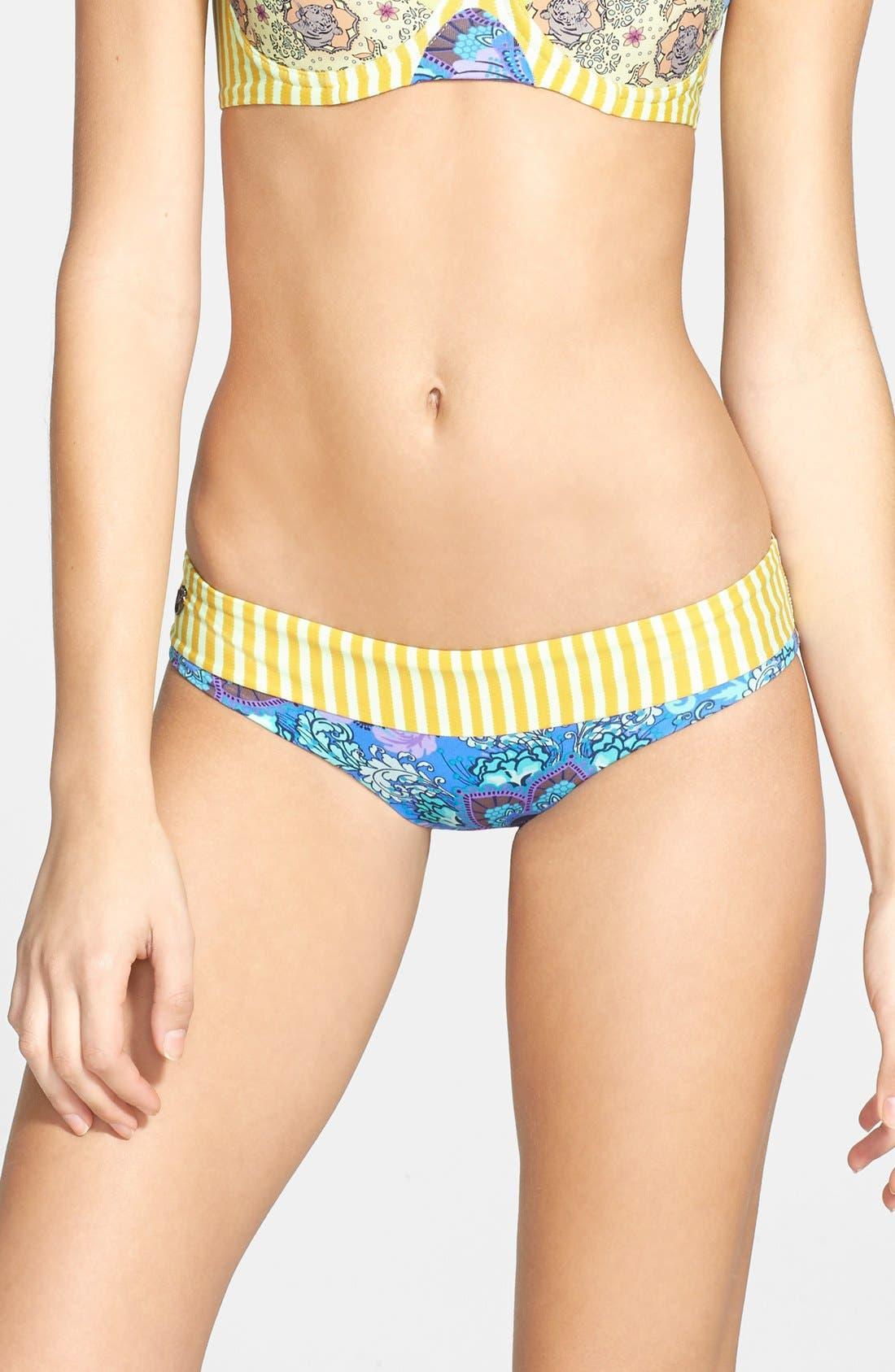 Main Image - Maaji 'Nautical Desire' Reversible Bikini Bottoms
