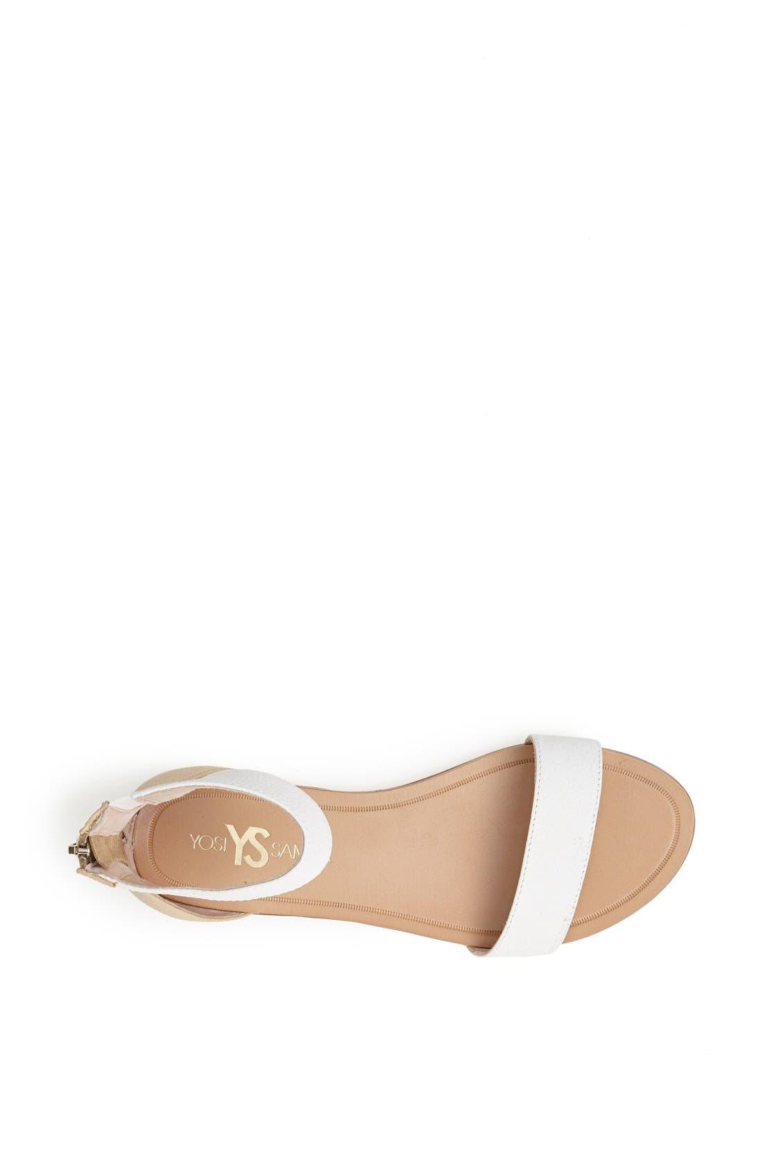 Alternate Image 3  - Yosi Samra 'Cambelle' Ankle Strap Sandal