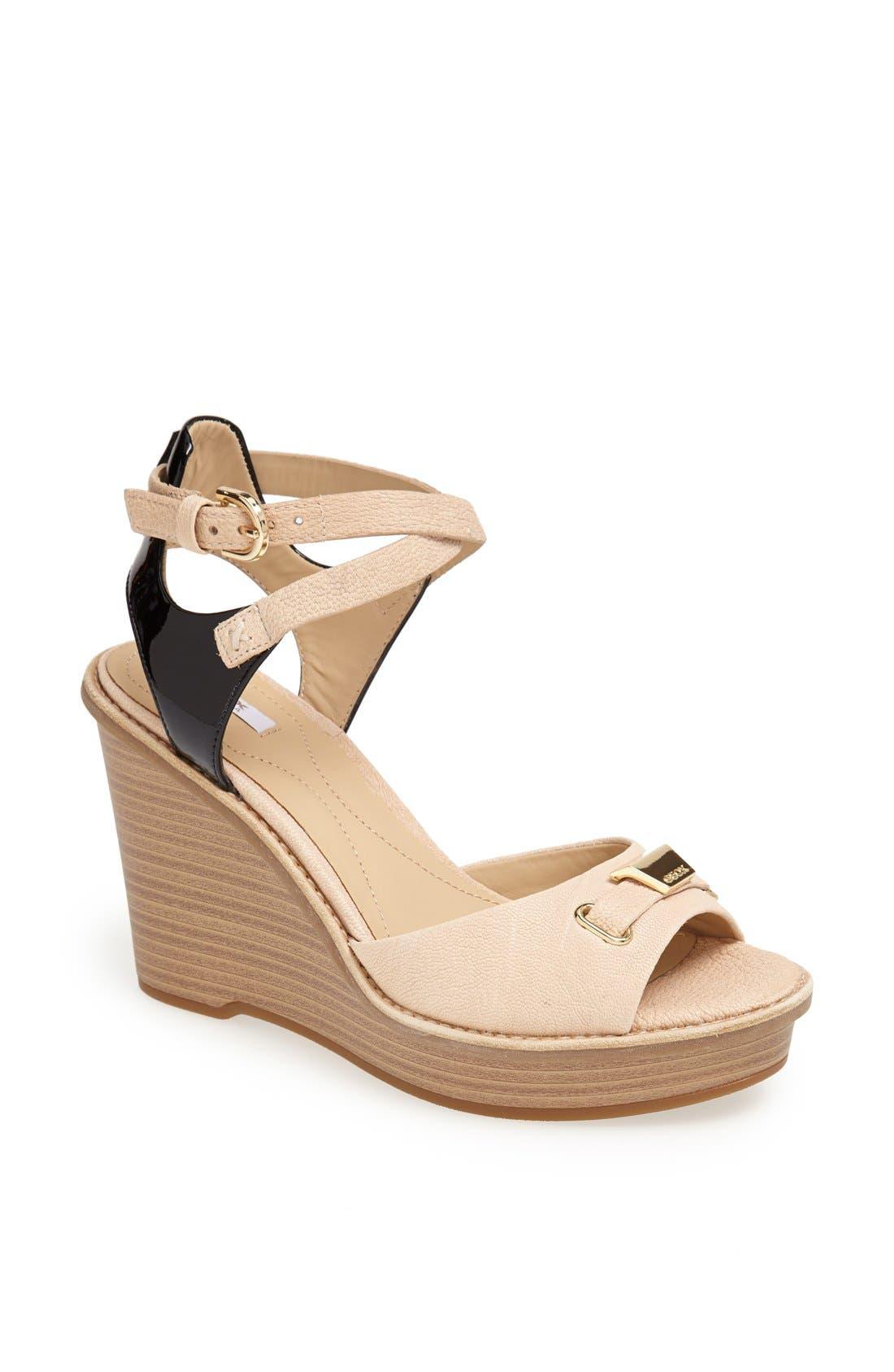 Alternate Image 1 Selected - Geox 'Maranta' Wedge Sandal