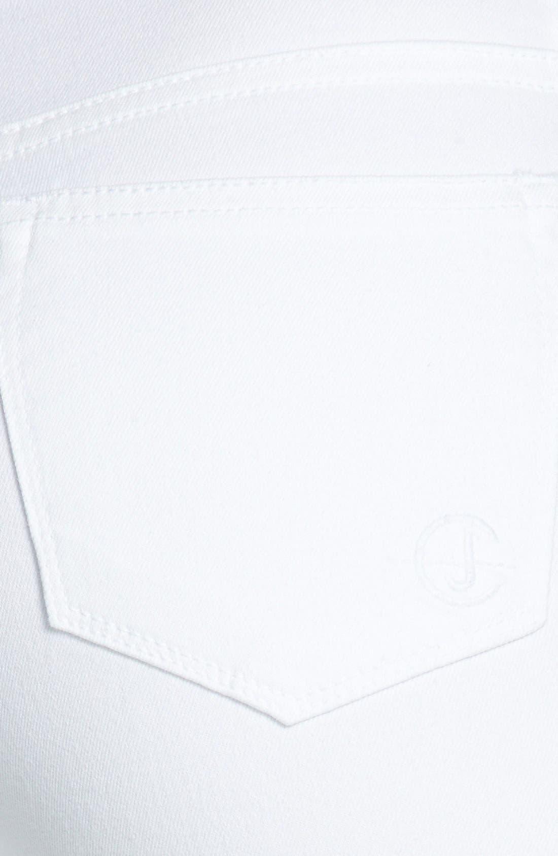 Alternate Image 3  - CJ by Cookie Johnson 'Wisdom' Eyelet Detail Ankle Skinny Jeans (Optic White)