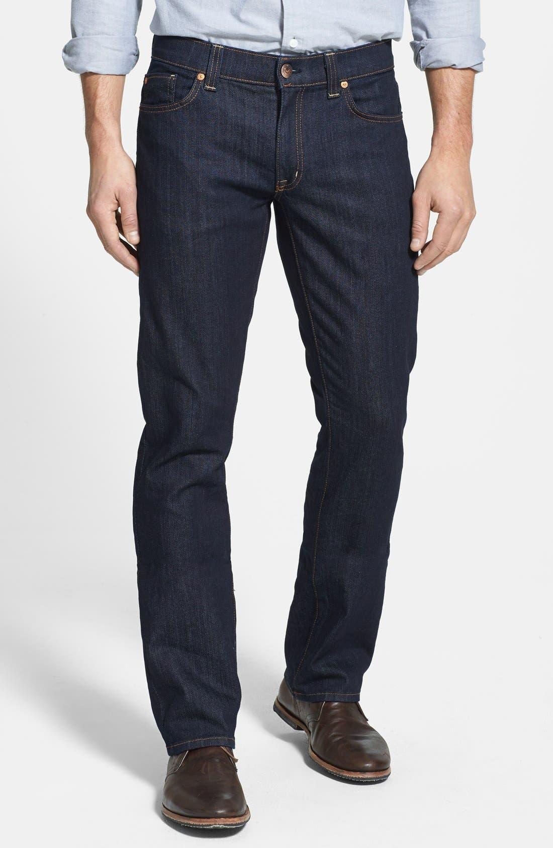 Alternate Image 1 Selected - Fidelity Denim 'Impala' Straight Leg Jeans (Town Rinse)