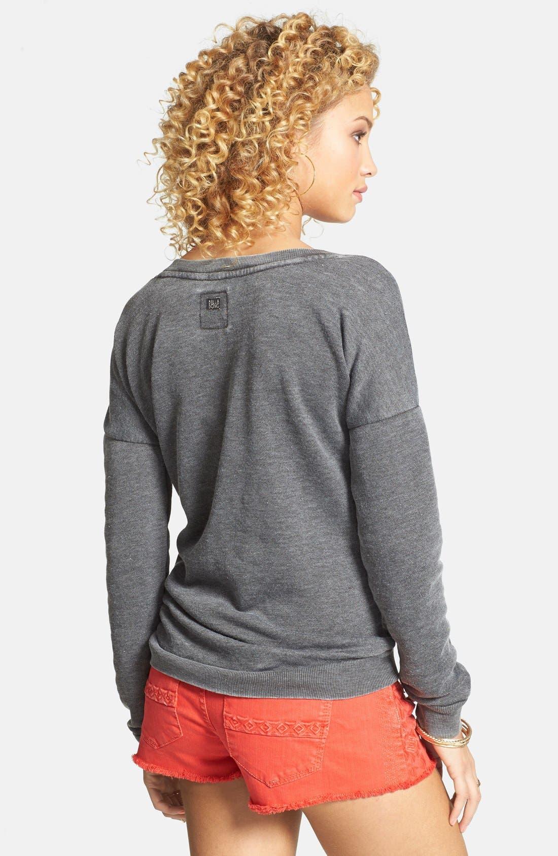 Alternate Image 2  - Billabong 'She Sells' Pineapple Print Pullover (Juniors) (Online Only)