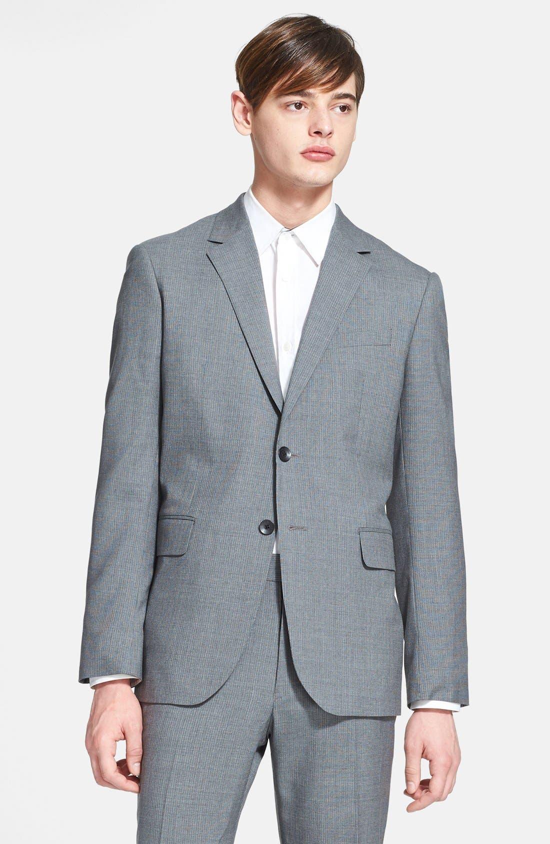 Alternate Image 2  - rag & bone Pinstripe Wool Suit