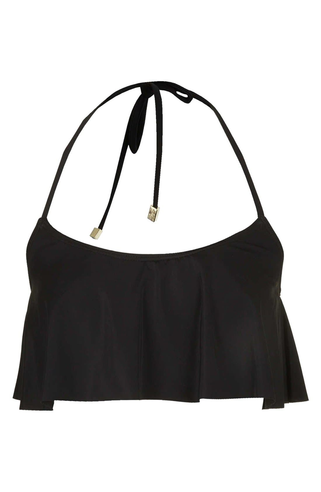 Alternate Image 1 Selected - Topshop Ruffle Tier Bikini Top