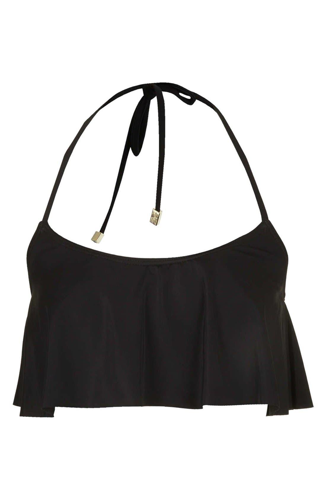 Main Image - Topshop Ruffle Tier Bikini Top