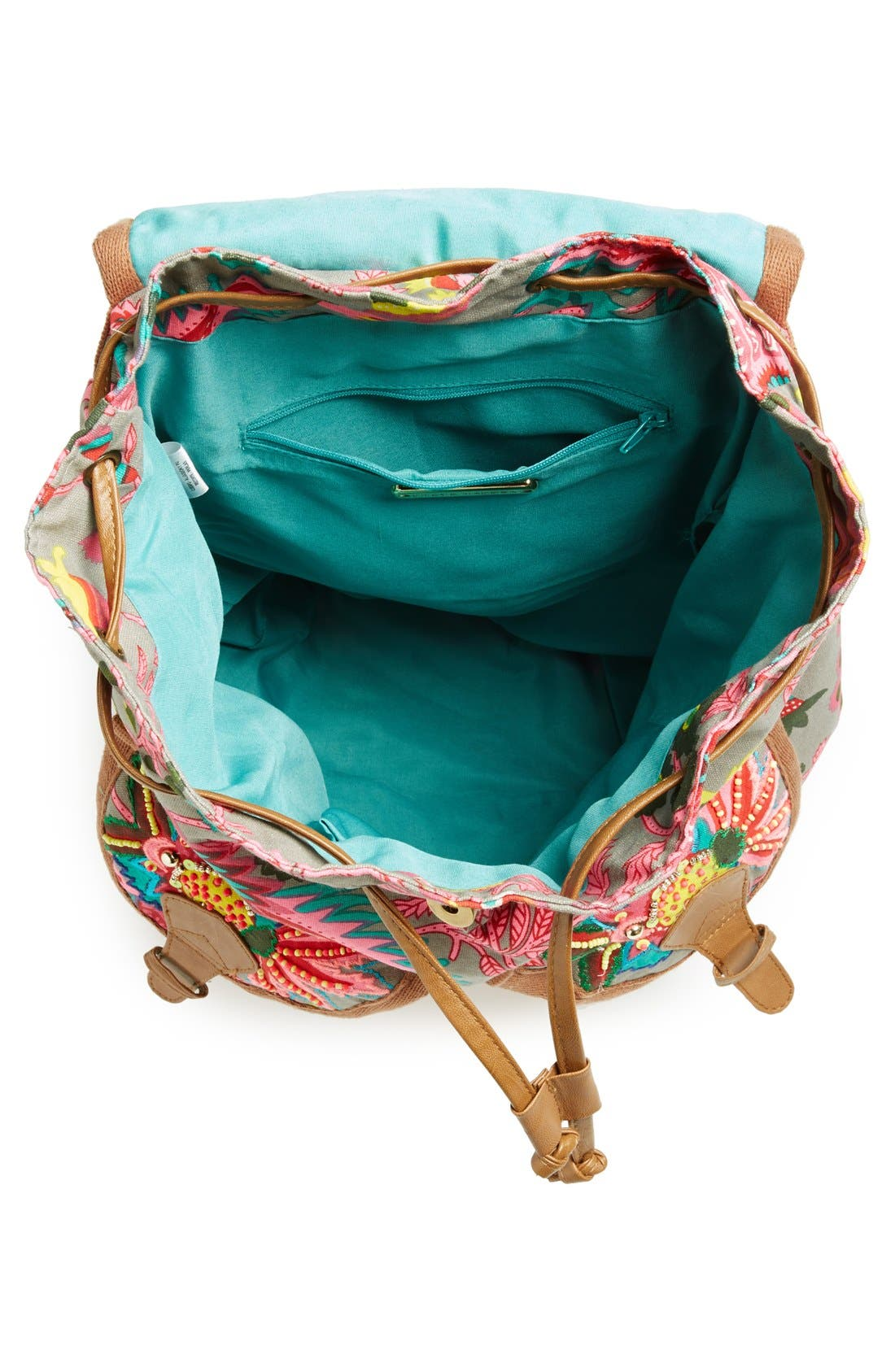 Alternate Image 3  - Steve Madden Beaded Canvas Backpack