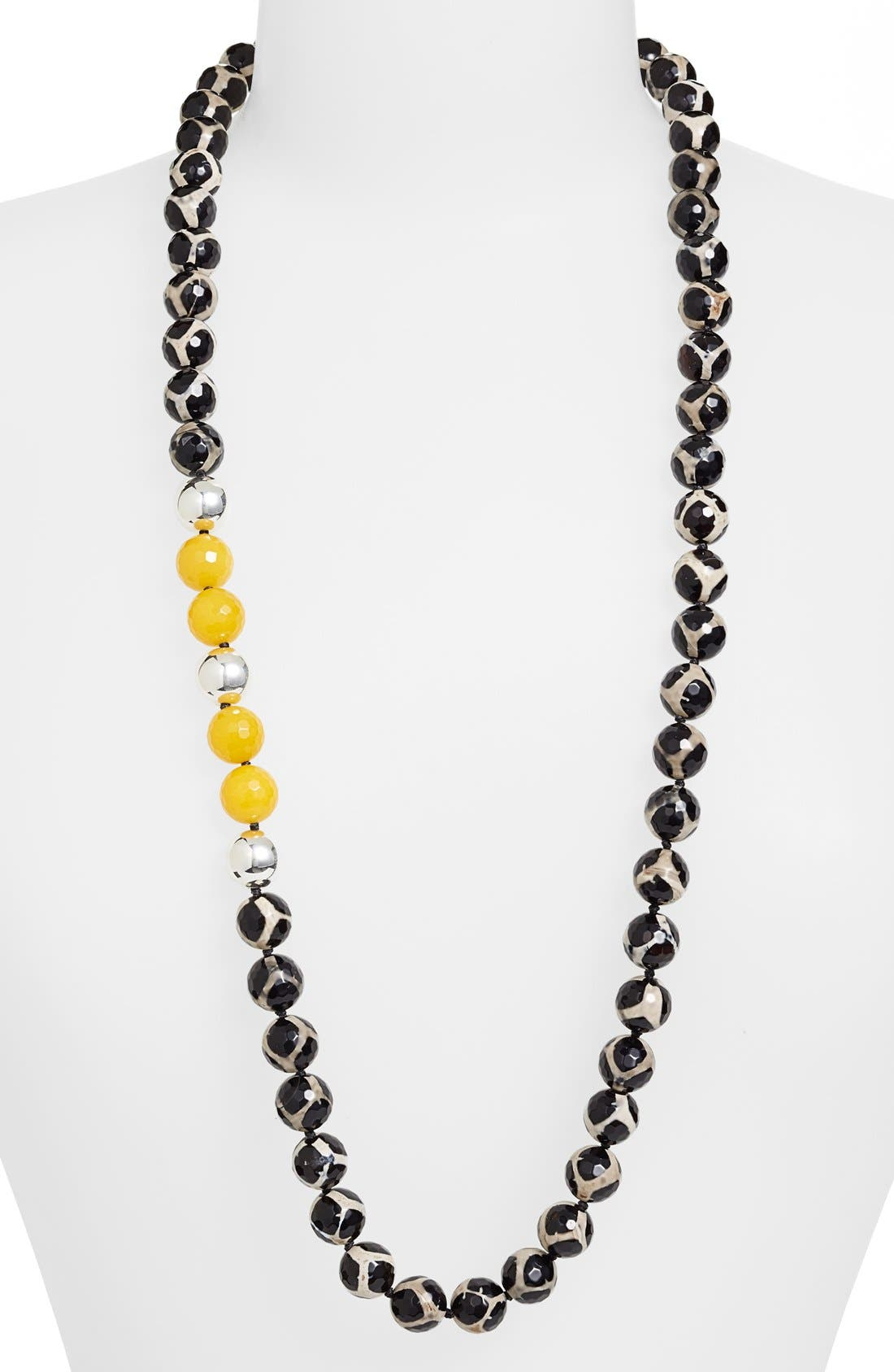 Alternate Image 1 Selected - Simon Sebbag 'Safari' Long Beaded Necklace
