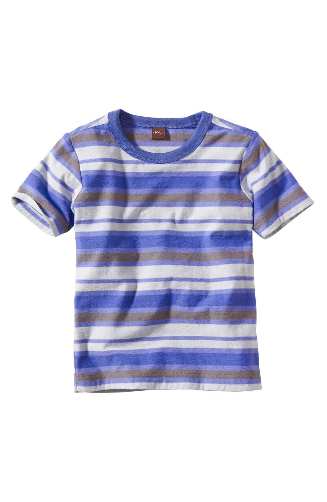 Alternate Image 1 Selected - Tea Collection 'Majorelle' Stripe T-Shirt (Little Boys & Big Boys)