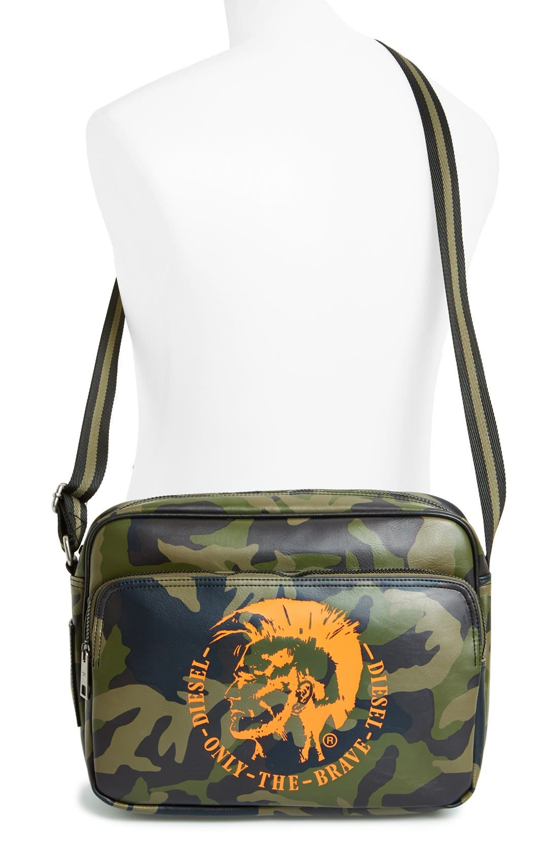 Alternate Image 2  - DIESEL® Camouflage Crossbody Bag