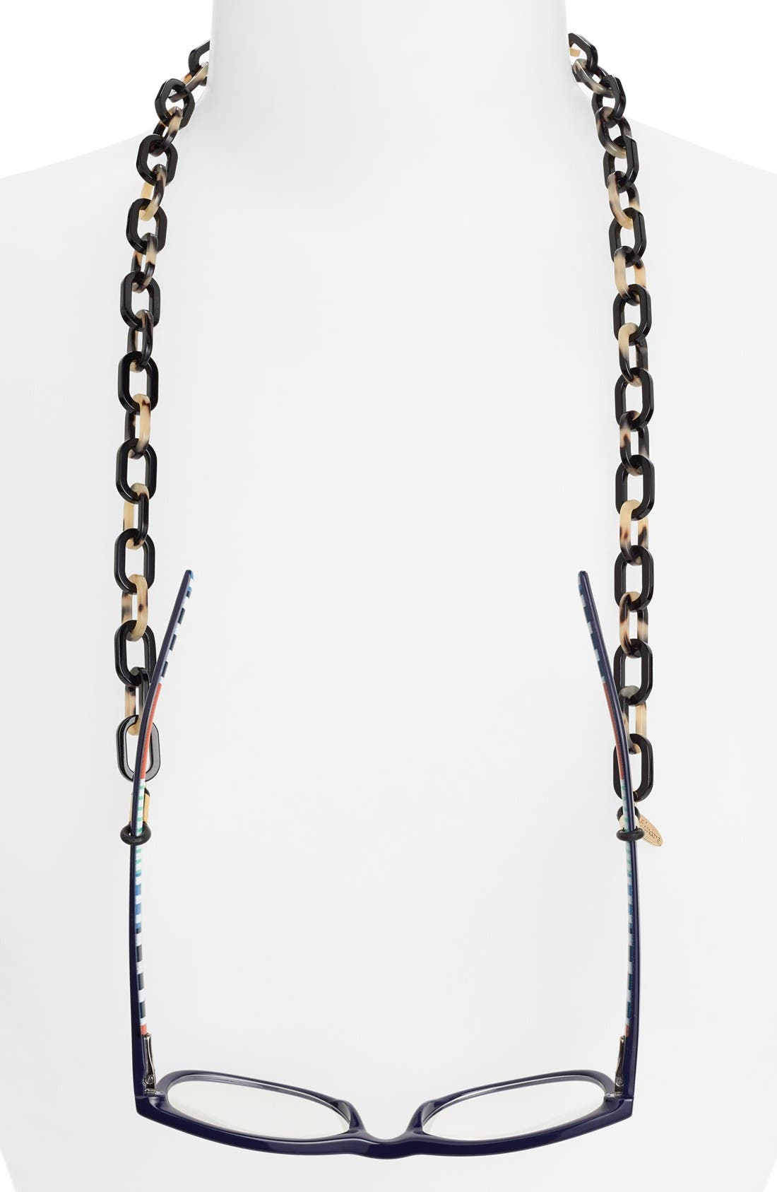 L. Erickson 'Brynn' Oval Link Eyewear Chain