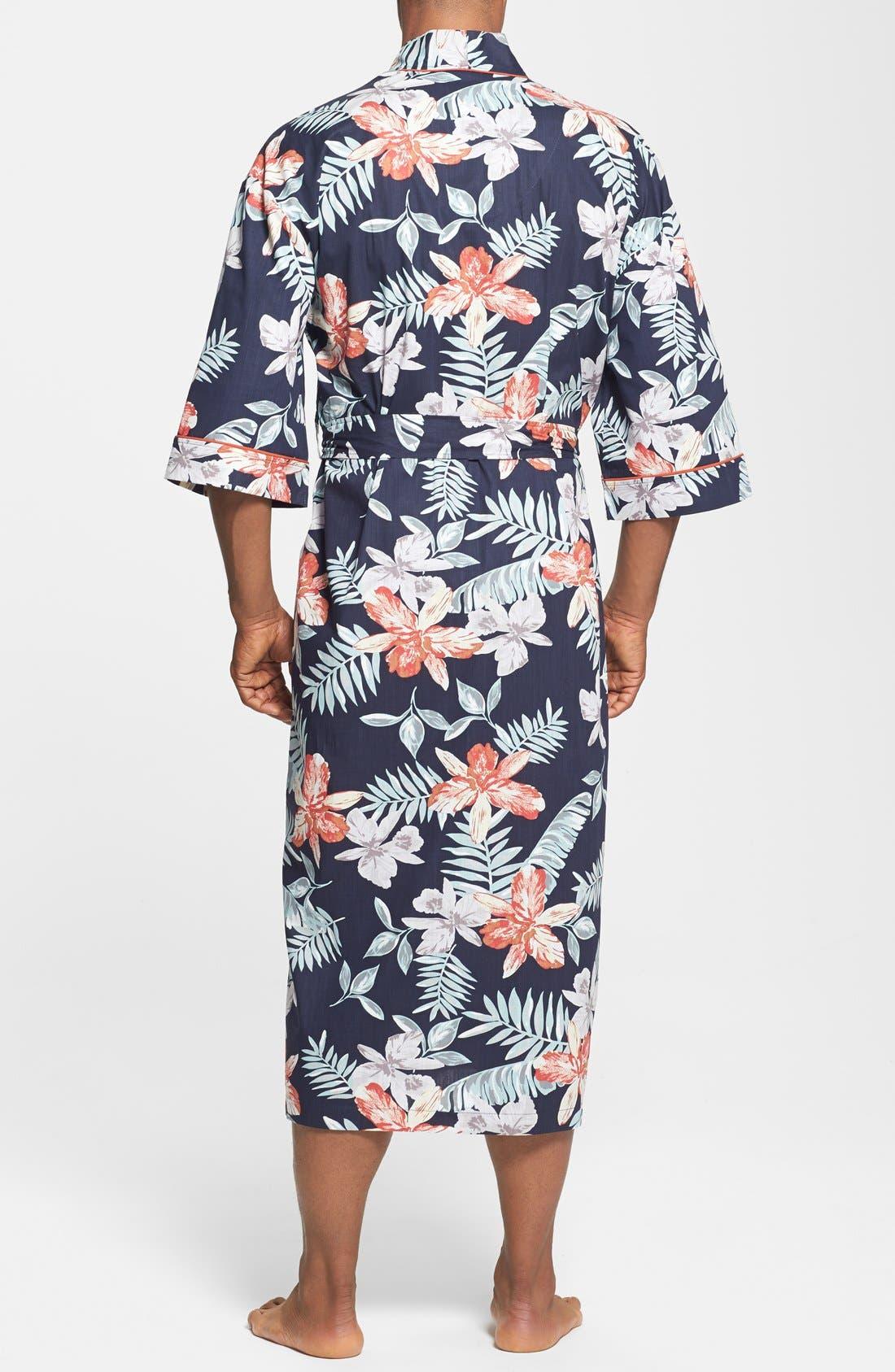 Alternate Image 2  - Majestic International 'Tropical Punch' Kimono Robe
