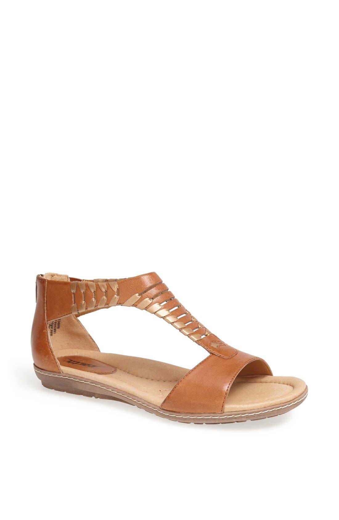 Main Image - Earth® 'Shell' Cutout Leather Sandal