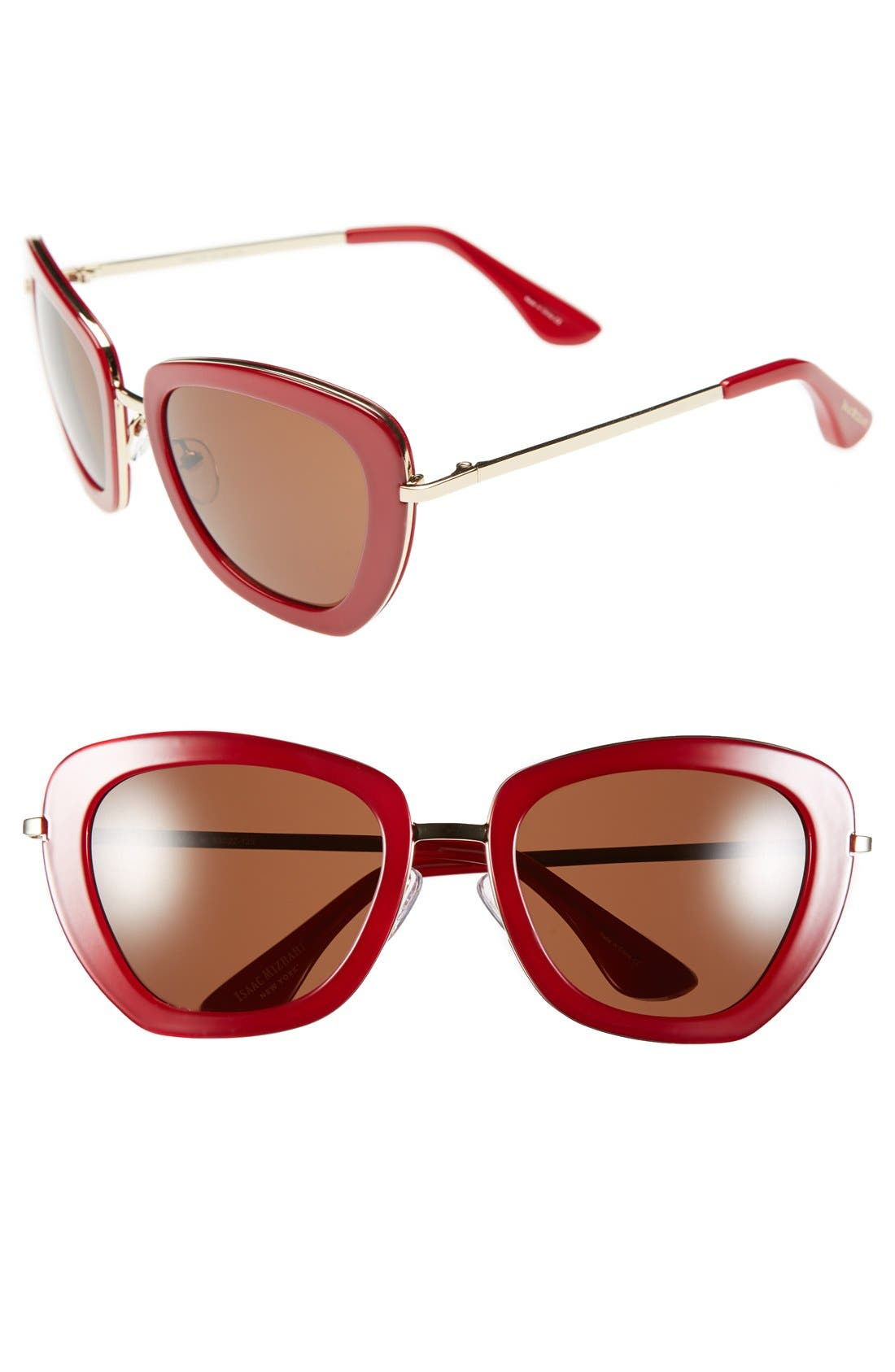 Main Image - Isaac Mizrahi New York 53mm Retro Sunglasses
