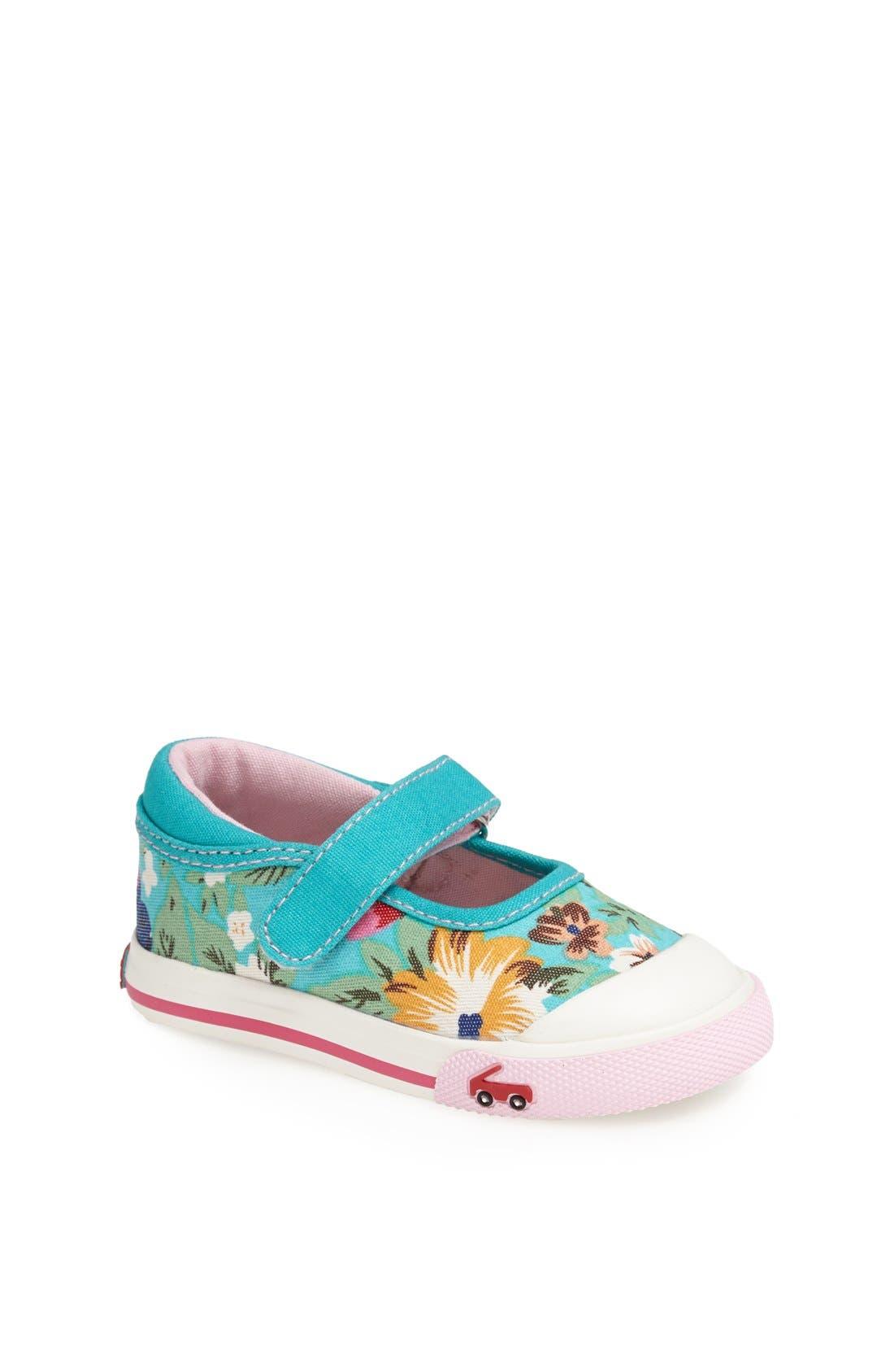 Alternate Image 1 Selected - See Kai Run 'Marie' Mary Jane Sneaker (Baby, Walker & Toddler)
