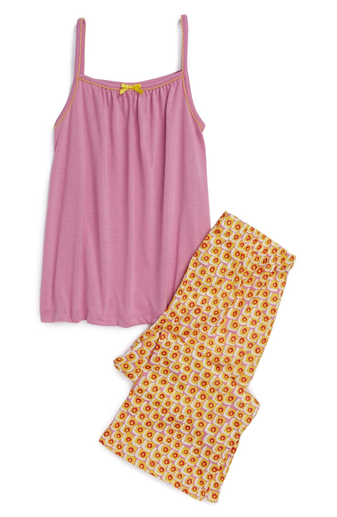 Alternate Image 1 Selected - Tucker + Tate Two-Piece Pajamas (Little Girls & Big Girls)