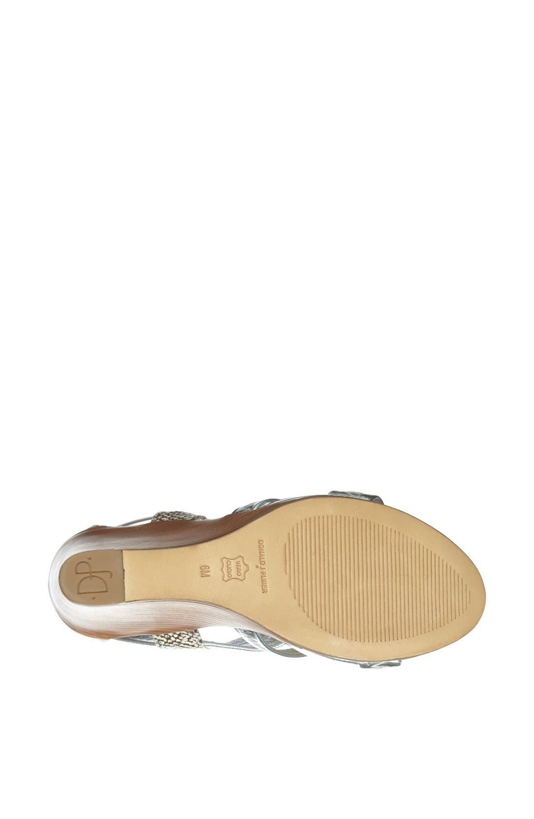 Alternate Image 4  - Donald J Pliner 'Ginge' Wedge Sandal