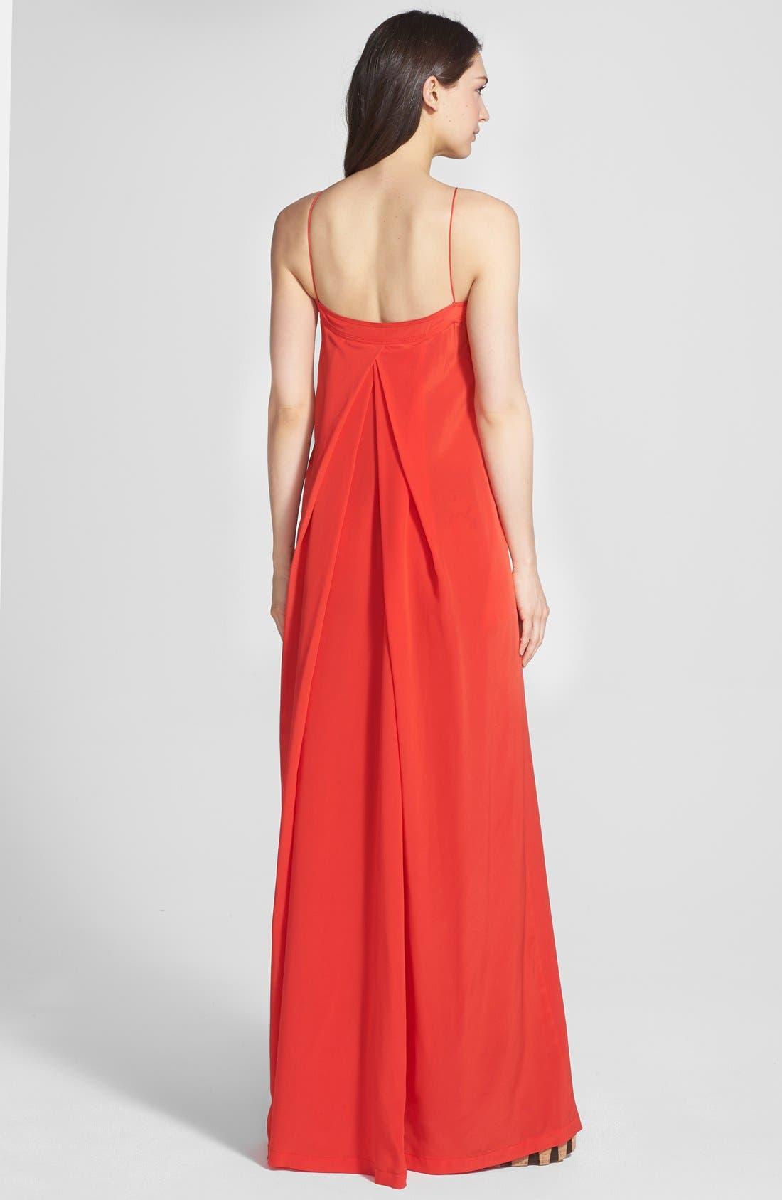 Alternate Image 2  - Diane von Furstenberg 'Annie' Silk Maxi Dress