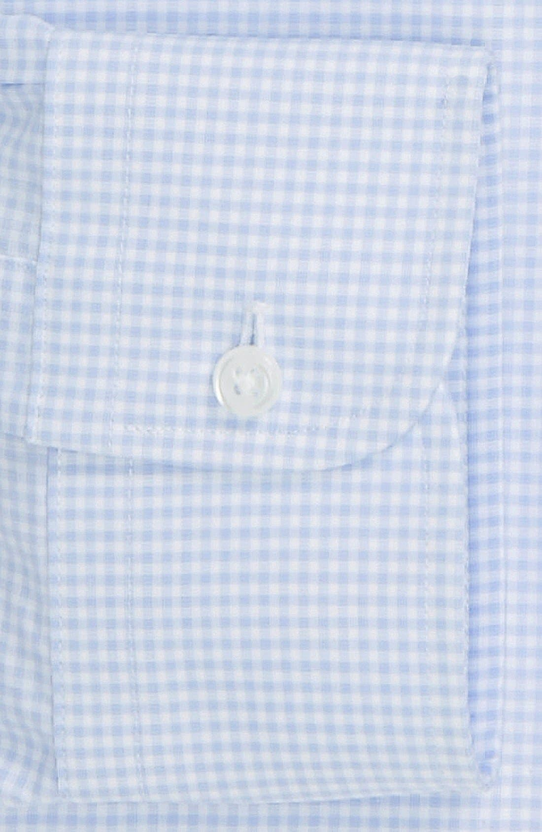 Alternate Image 2  - Nordstrom Classic Fit Non-Iron Check Dress Shirt (Online Only)