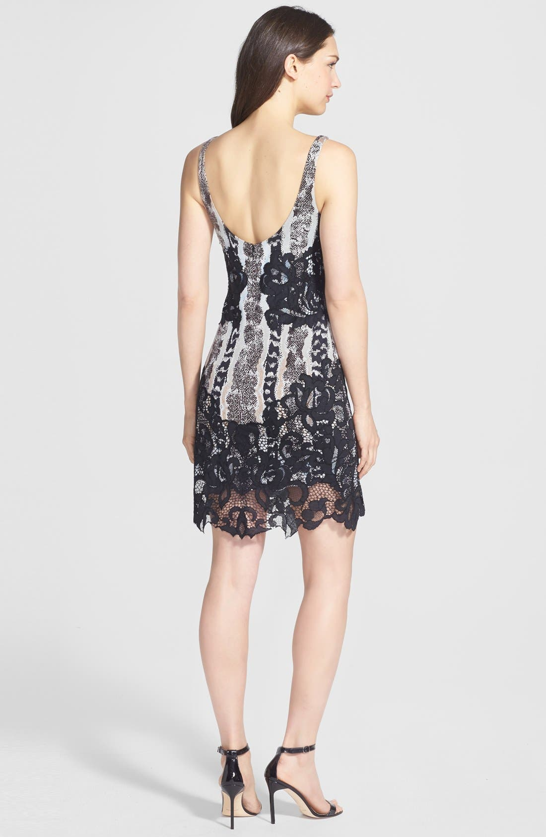 Alternate Image 2  - Diane von Furstenberg 'Sara' Print Woven A-Line Dress
