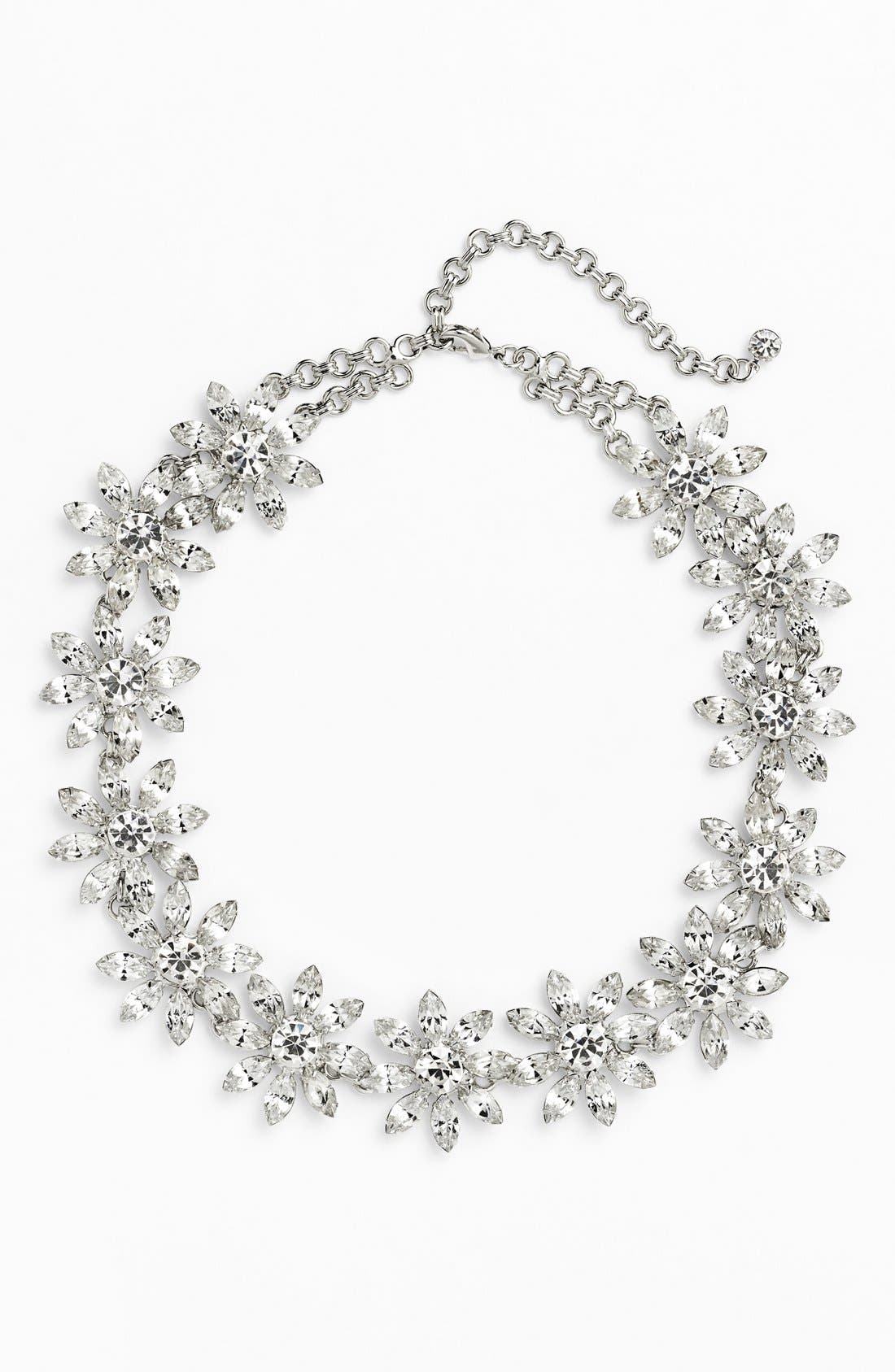 Alternate Image 2  - Nordstrom 'Occasion' Crystal Collar Necklace