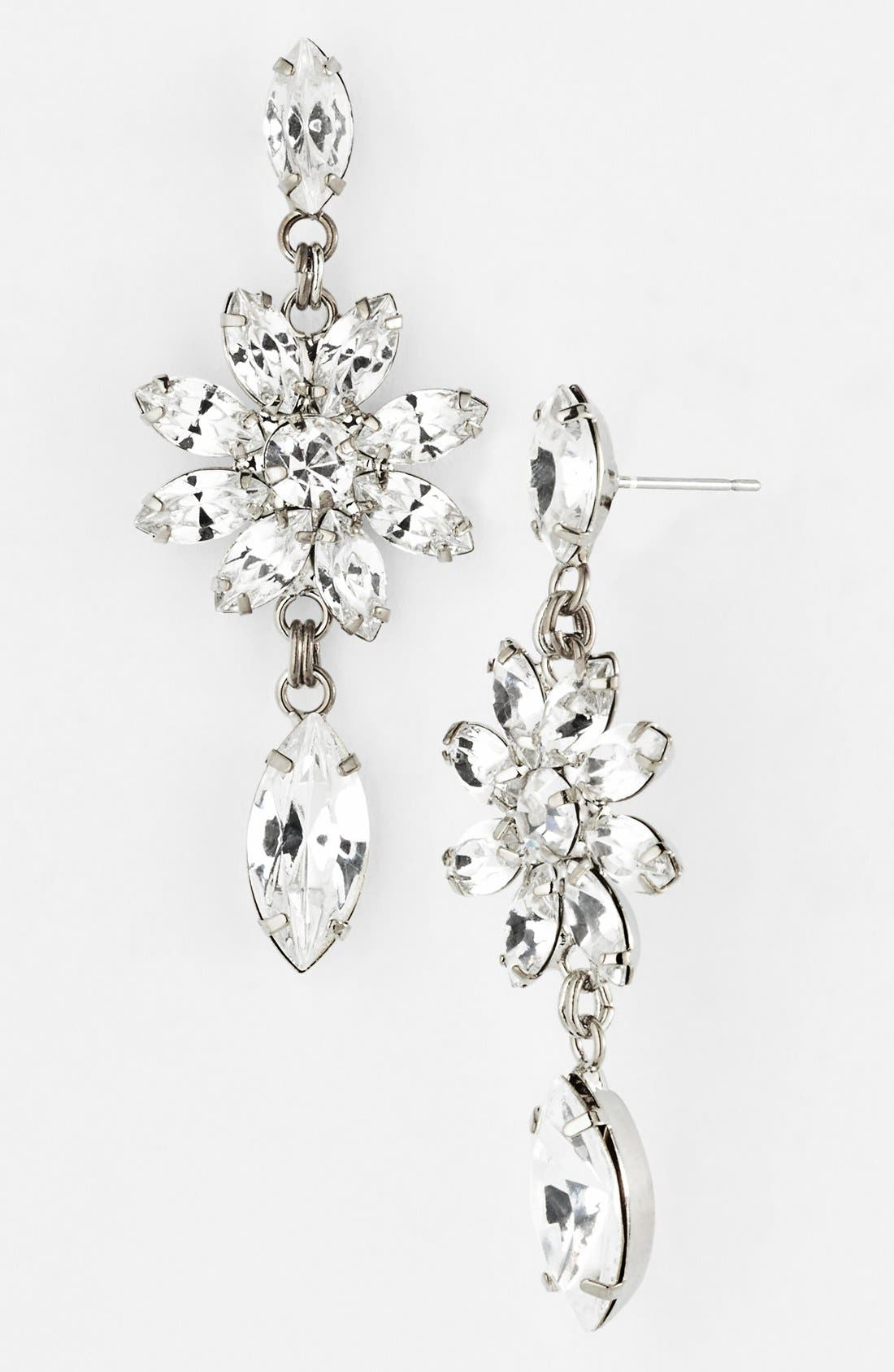 Alternate Image 1 Selected - Nordstrom 'Occasion' Crystal Drop Earrings