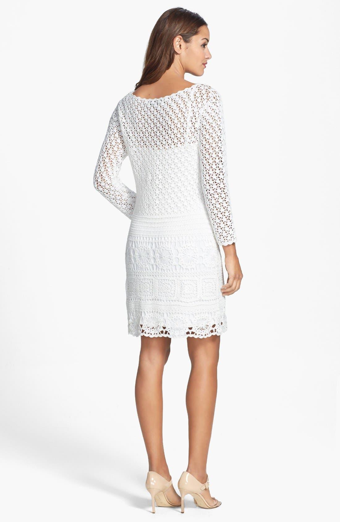 Alternate Image 2  - Trina Turk 'Lanai' Crochet Lace Dress