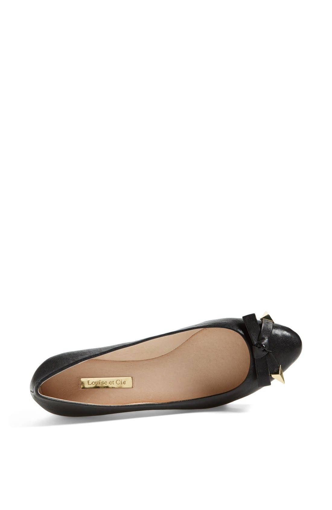 Alternate Image 3  - Louise et Cie 'Azalya' Mini Wedge Flat (Women)