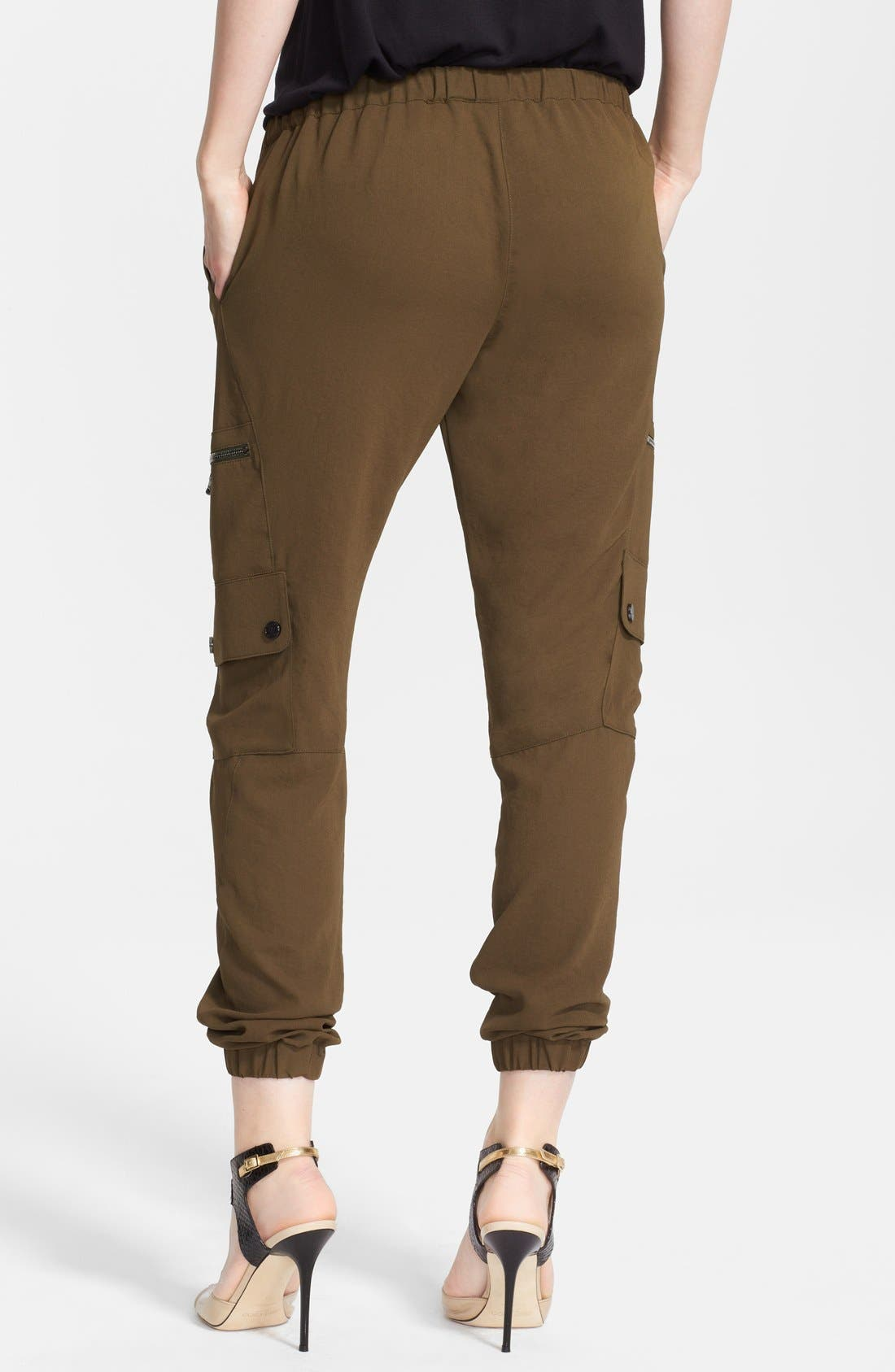 Alternate Image 2  - Haute Hippie Cargo Track Pants