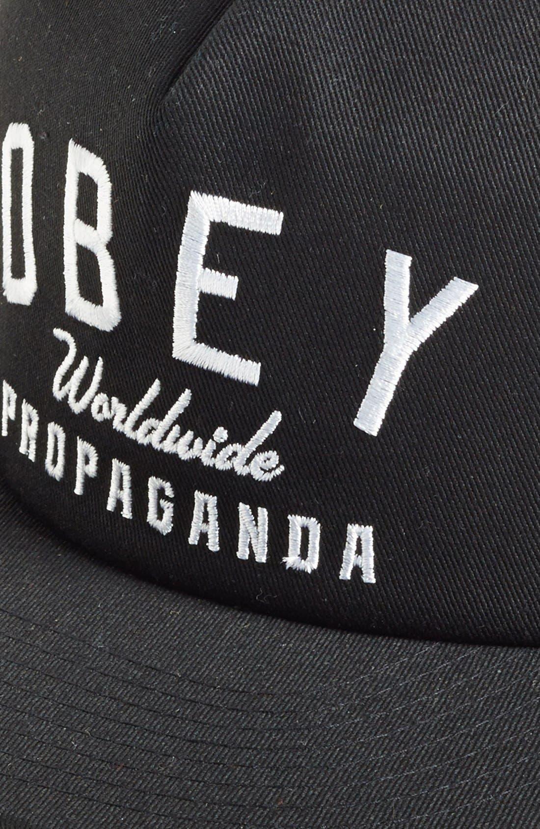 Alternate Image 2  - Obey 'Worldwide' Snapback Cap