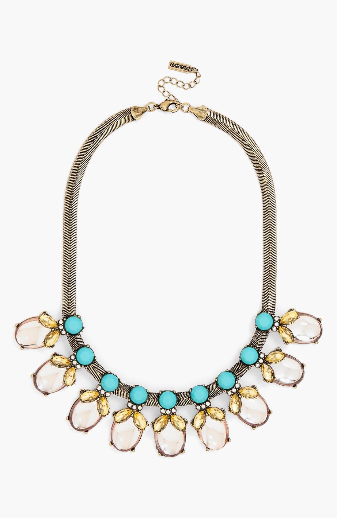 Alternate Image 1 Selected - BaubleBar 'Rosebud' Frontal Necklace