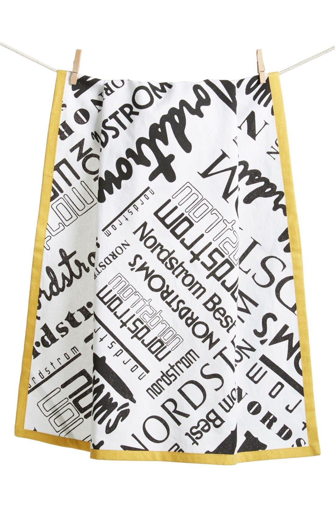 Main Image - Nordstrom Heritage Collection Logo Tea Towel