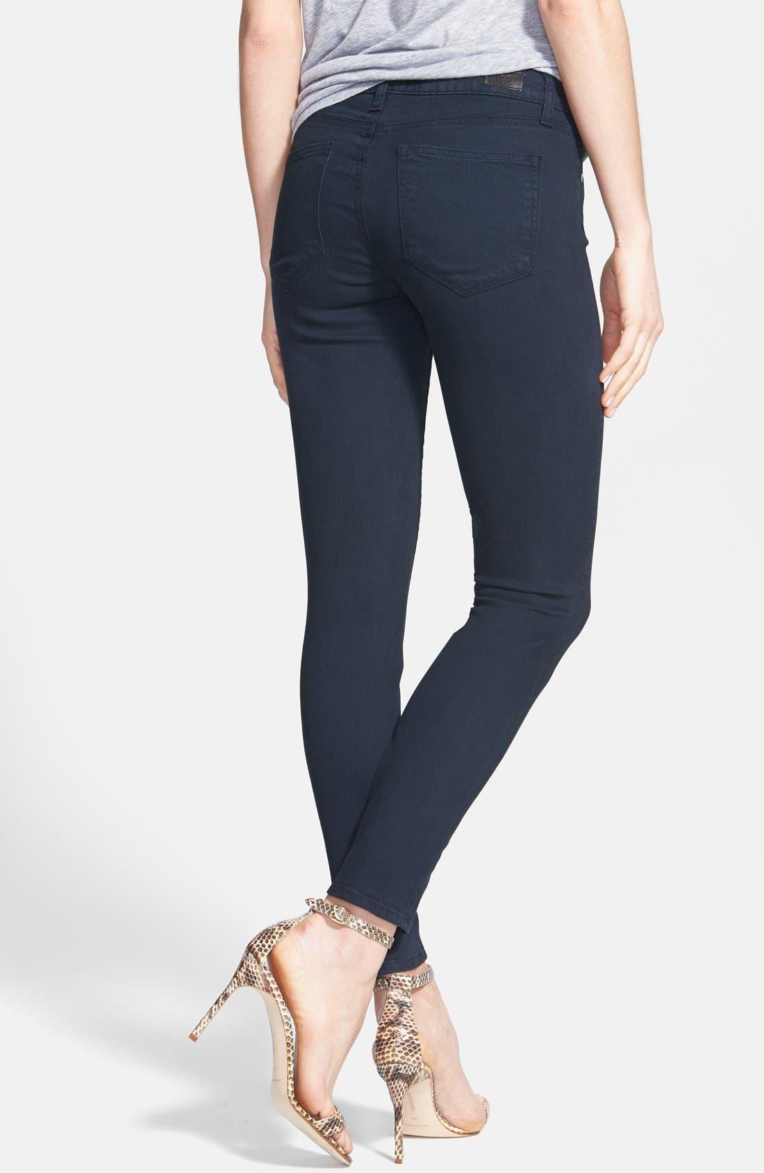 Alternate Image 2  - Paige Denim 'Verdugo' Skinny Ankle Jeans (Azure)