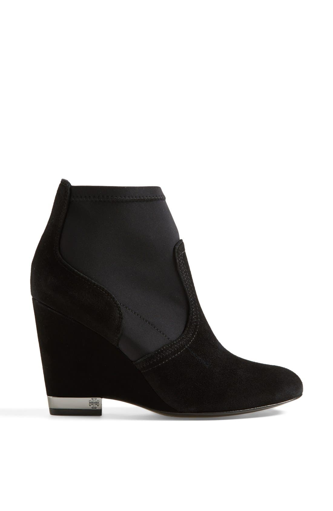 Alternate Image 4  - Tory Burch 'Brenda' Demi Wedge Boot