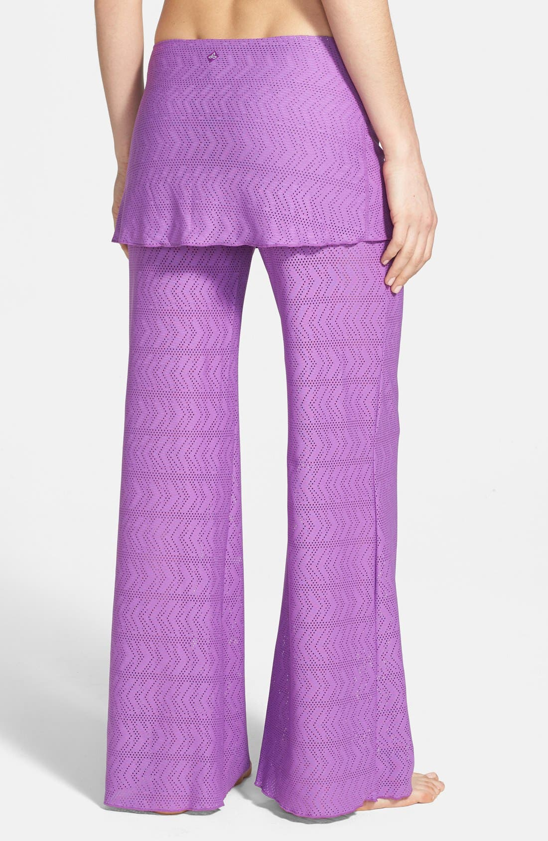 Alternate Image 2  - prAna 'Satori' Mesh Cover-Up Skirted Pants