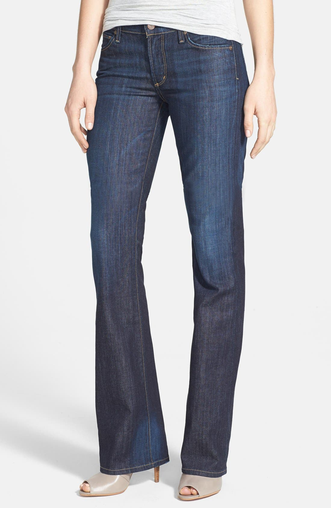 Alternate Image 1  - Citizens of Humanity 'Kelly' Bootcut Stretch Jeans (New Pacific)