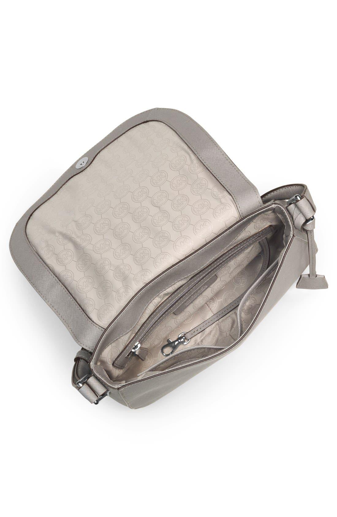 Alternate Image 3  - MICHAEL Michael Kors 'Large' Saffiano Leather Crossbody Bag