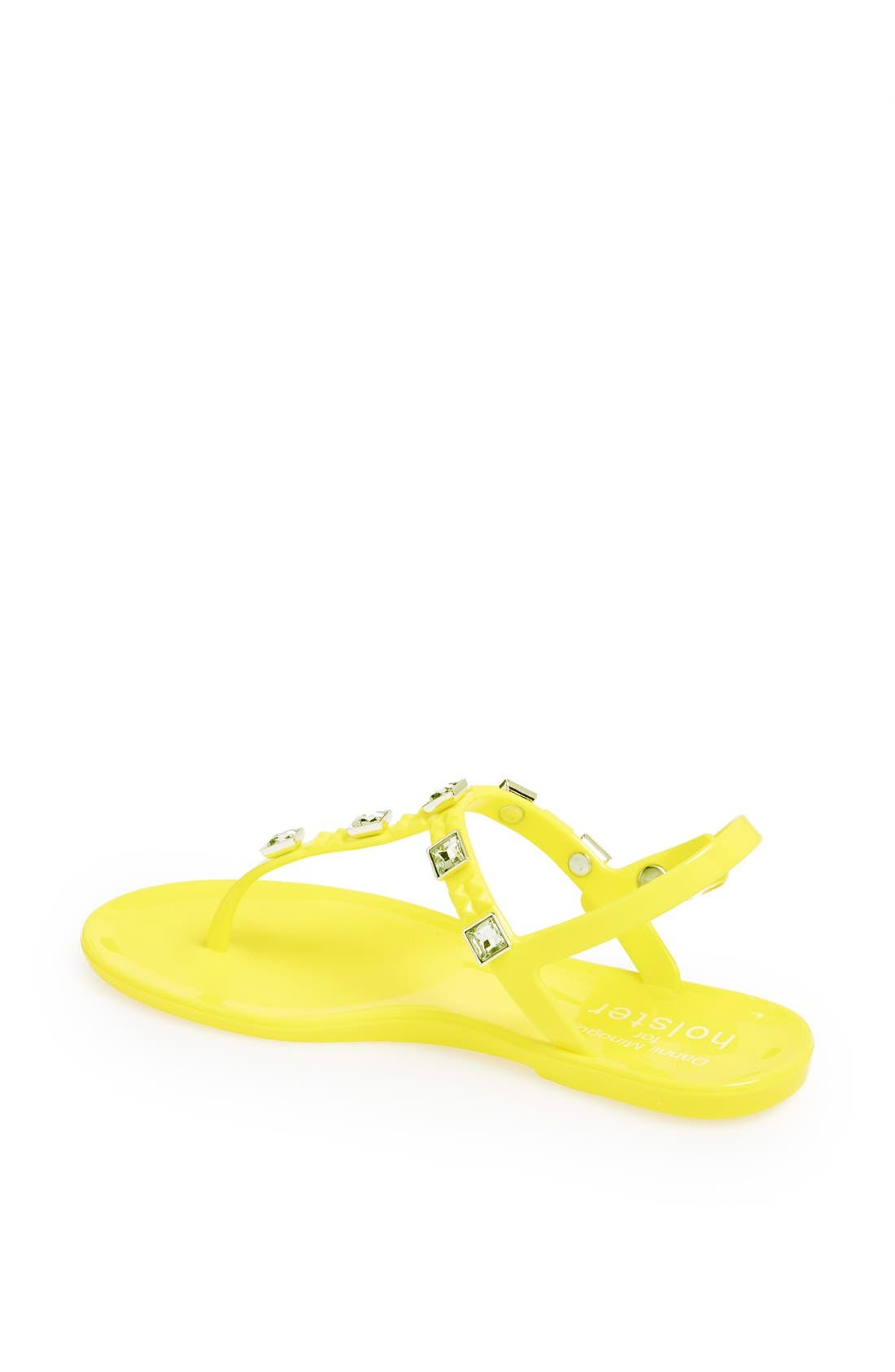 Alternate Image 2  - Holster Fashion 'Rockstar' Jelly Thong Sandal
