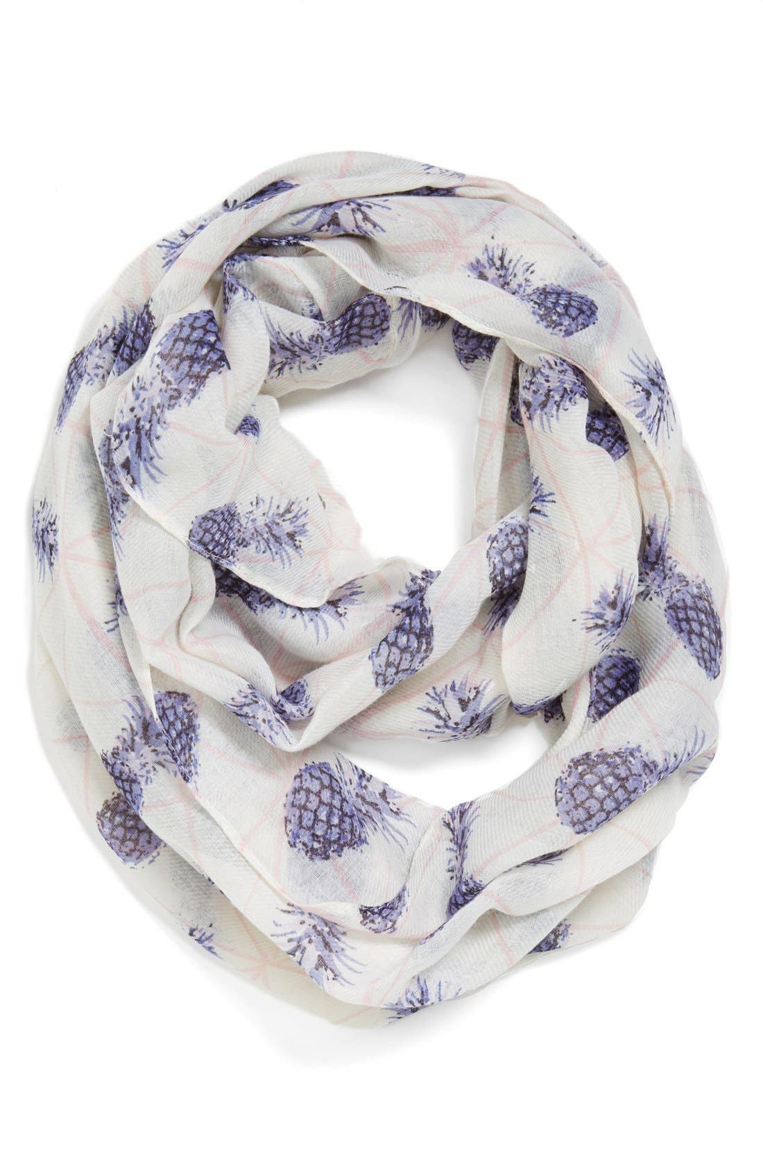 Main Image - Leith 'Prism Pineapples' Oversized Infinity Scarf