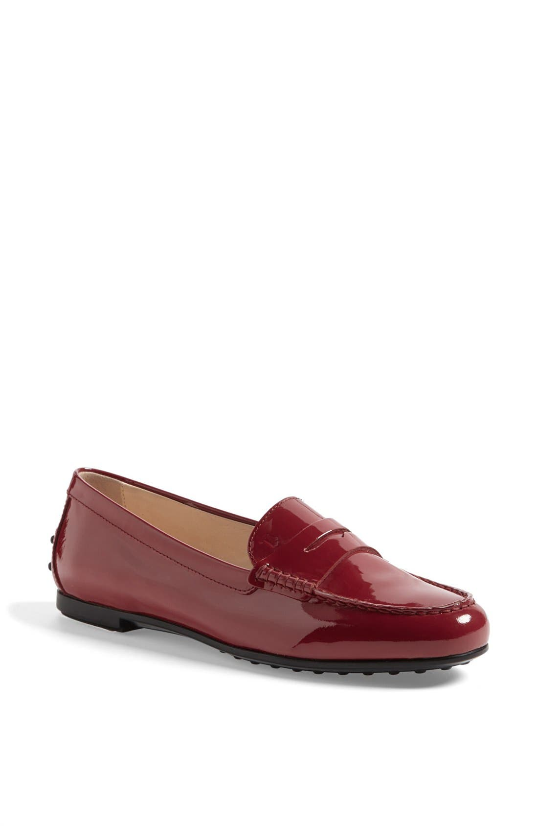 Alternate Image 1 Selected - Tod's 'Gomma' Patent Leather Driving Moccasin