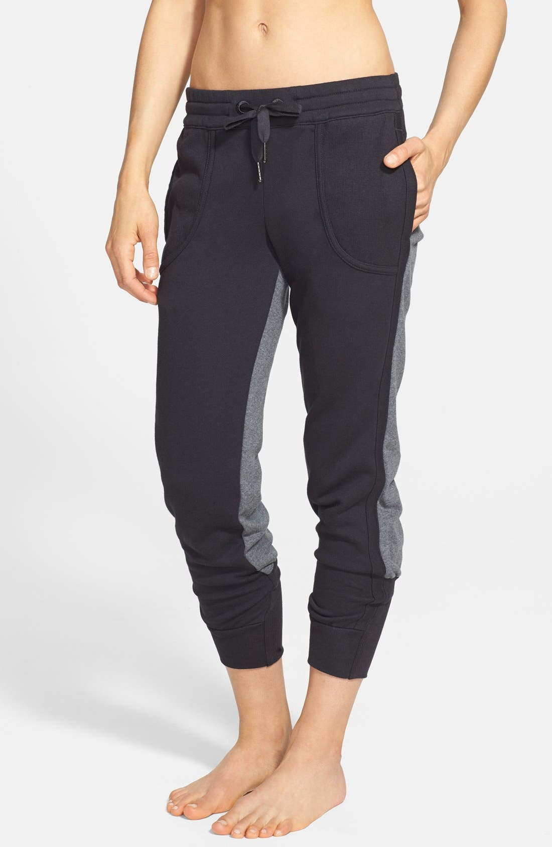 Main Image - adidas by Stella McCartney 'Essentials' Colorblock Sweatpants