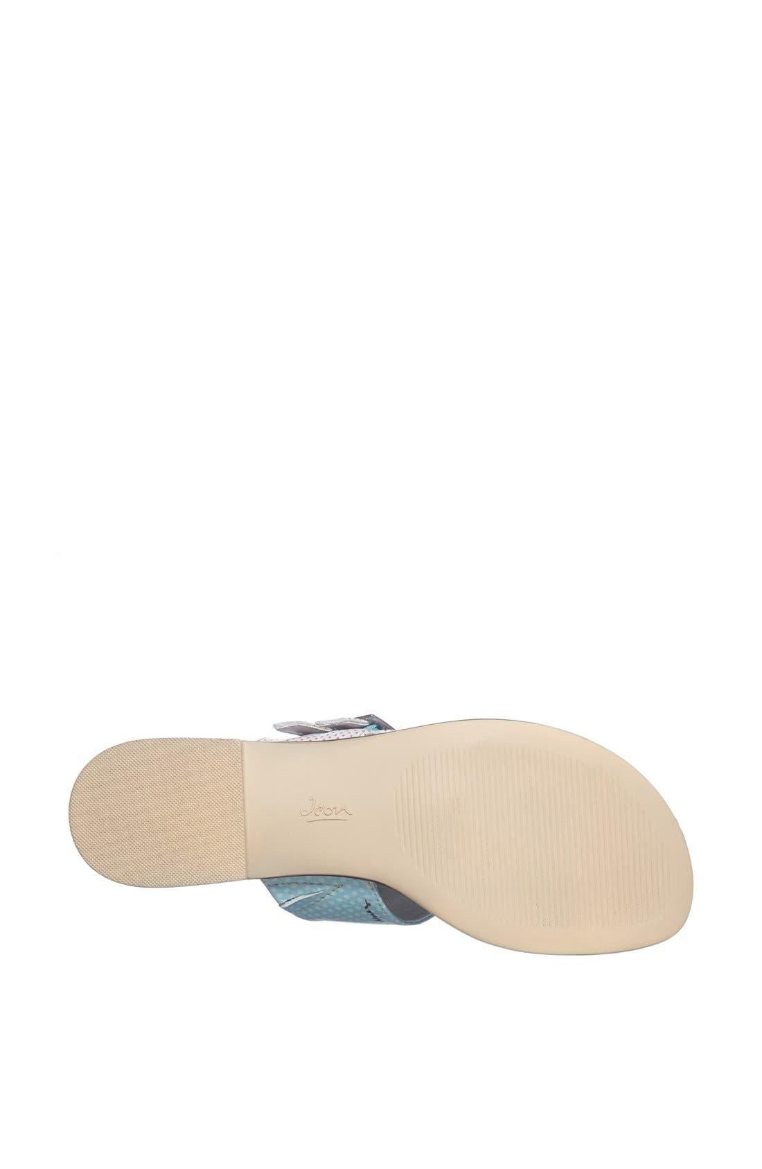Alternate Image 4  - Icon Footwear Flat Thong Sandal